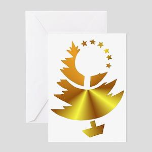 Deco Tree Greeting Card