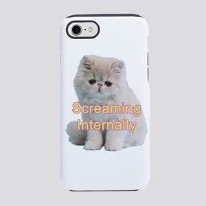 Screaming Internally Kitty iPhone 8/7 Tough Case
