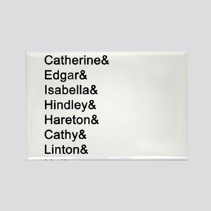 Wuthering Heights Names Magnets
