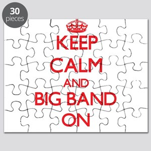 Keep Calm and Big Band ON Puzzle