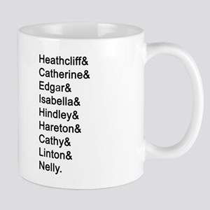 Wuthering Heights Names Mugs