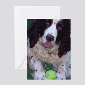 Cold Wet Nose Greeting Cards