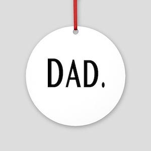 Dad Ornament (Round)