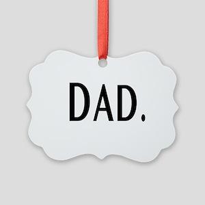 Dad Picture Ornament