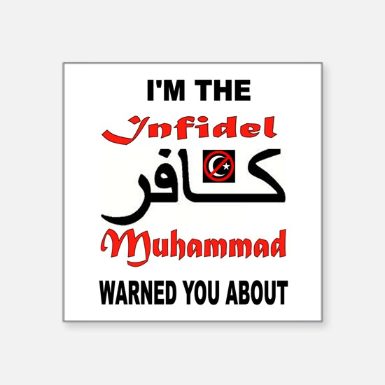 INFIDEL Sticker
