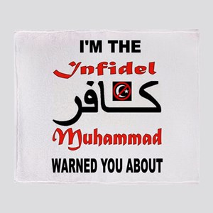 INFIDEL Throw Blanket