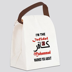 INFIDEL Canvas Lunch Bag