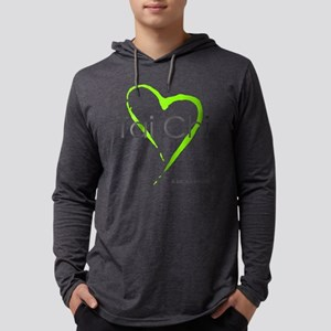 taichi hearti Mens Hooded Shirt