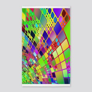 Abstract Technology Area Rug