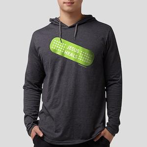 Jesus Heals Mens Hooded Shirt