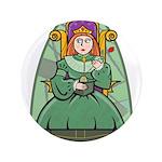 Celtic Princess Button
