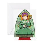 Celtic Princess Greeting Card