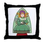 Celtic Princess Throw Pillow