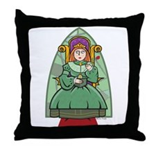 Celtic Princess Throw Pillow