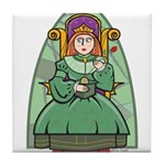 Celtic Princess Tile Coaster