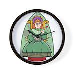 Celtic Princess Wall Clock