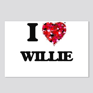 I Love Willie Postcards (Package of 8)