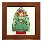 Celtic Princess Framed Tile