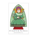Celtic Princess Mini Poster Print