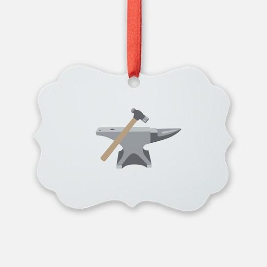 Anvil & Hammer Ornament