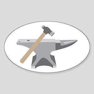 Anvil & Hammer Sticker
