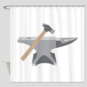 Anvil & Hammer Shower Curtain