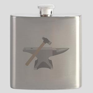 Anvil & Hammer Flask
