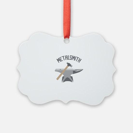 Metalsmith Ornament