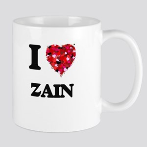 I Love Zain Mugs