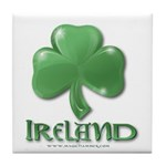 Shamrock Tile Coaster
