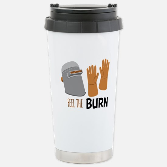 Feel The Burn Travel Mug