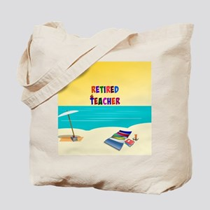 Retired Teacher...sun and fun Tote Bag