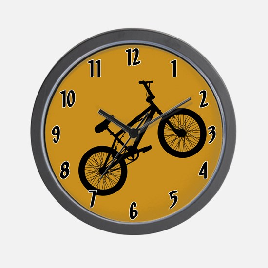 BMX Bike Wall Clock