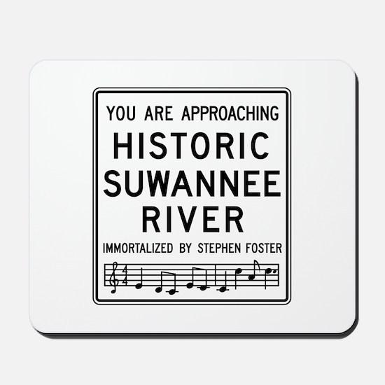 Historic Suwannee River, Florida Mousepad