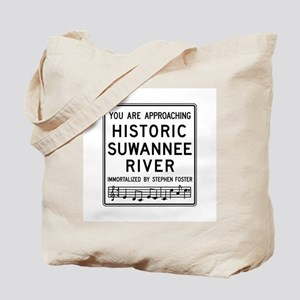 Historic Suwannee River, Florida Tote Bag