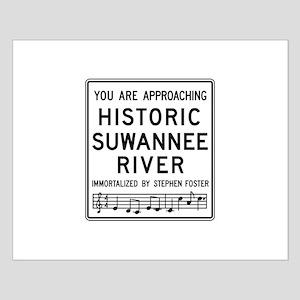 Historic Suwannee River, Florida Small Poster
