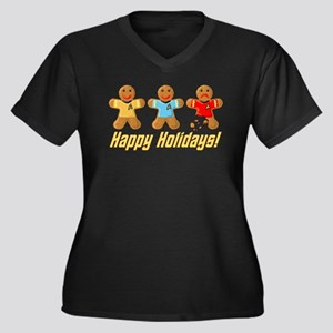 Star Trek Gingerbread Men Plus Size T-Shirt