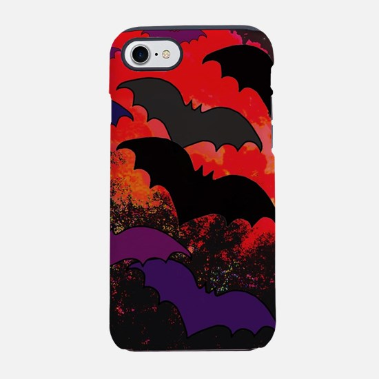 Bats In Flight iPhone 8/7 Tough Case