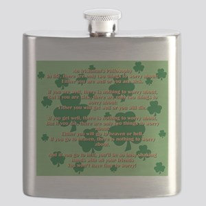 An Irishmans Philosophy Flask