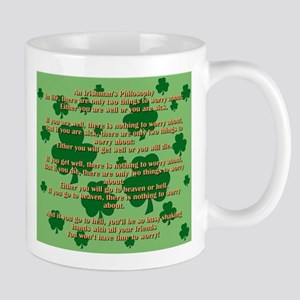 An Irishmans Philosophy Mugs