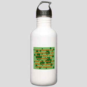 As An American Of Irish Descent Water Bottle