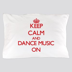 Keep Calm and Dance Music ON Pillow Case
