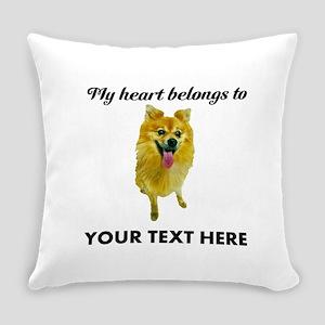 Personalized Pomeranian Everyday Pillow