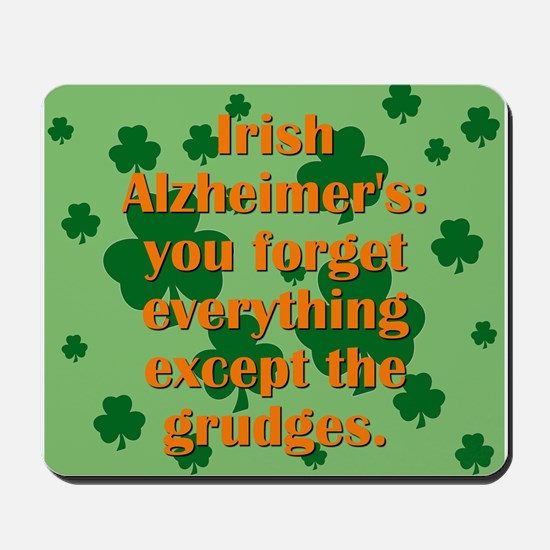 Irish Alzheimers Mousepad