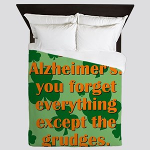 Irish Alzheimers Queen Duvet