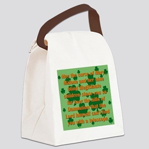 May the Curse Of Mary Malone Canvas Lunch Bag