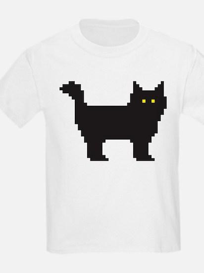 8-Bit Cat T-Shirt