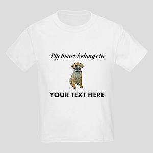Personalized Puggle Kids Light T-Shirt