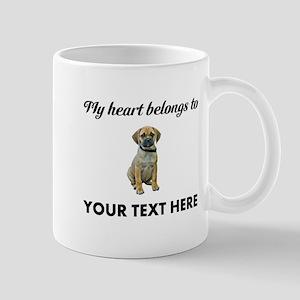 Personalized Puggle Mug