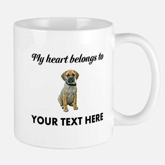 Personalized Puggle Mug